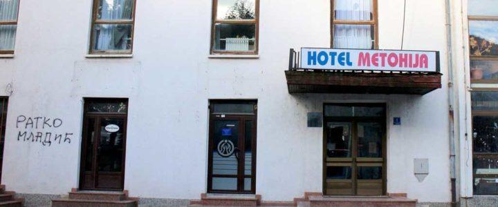 "Rekonstrukcija hotela ""Metohija"" u punom zamahu"