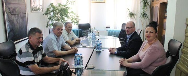 Ambasador OSCE-a u BIH Džonatan Mur u poseti Gacku
