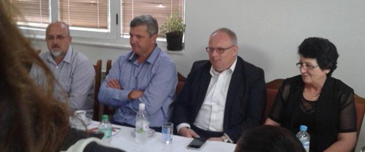 Ministar Bogdanić u radnoj posjeti Gacku