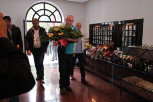 Cveće su položile delegacije susednih opština i boračkih organizacija