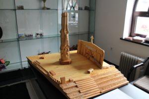 Maketa idejnog rešenja spomenika