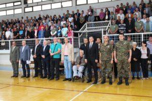 Proslava dana Gatačke brigade je nastavljena prigodnim programom