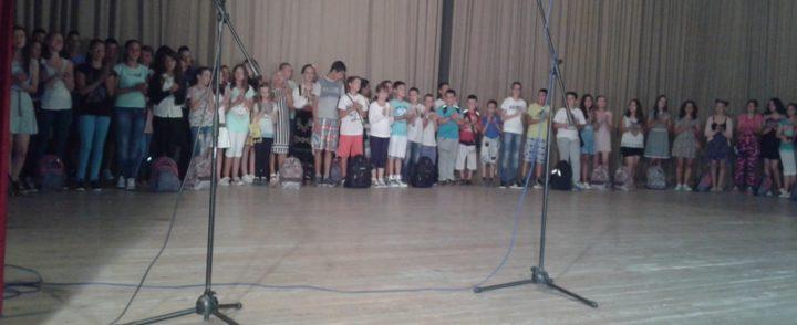 Gacko ispratilo mališane sa Kosova