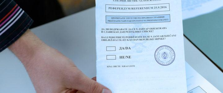 Referendum u Gacku-do 9h izlaznost 9,16%