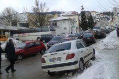 """Zima donela i saobraćajne gužve u """"špicu"""""""