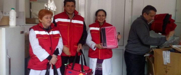 Donacija Crvenog krsta i Sindikata RiTe Domu zdravlja