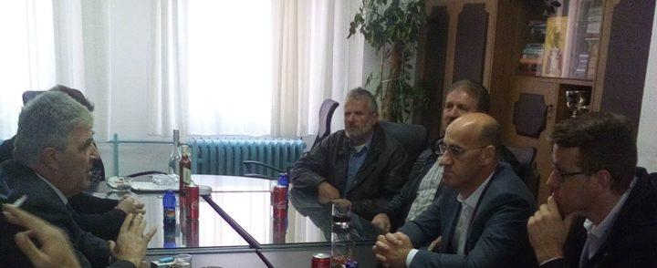 Ramiz Salkić u posjeti Gacku