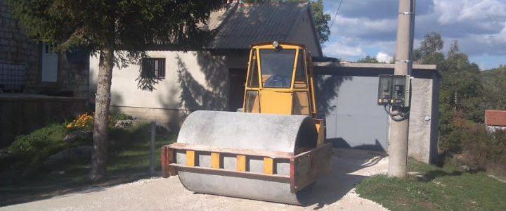 Počelo asfaltiranje priključnih puteva u Danićima