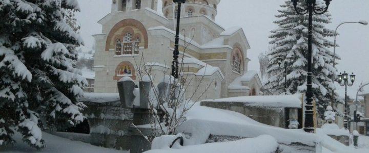 Snijeg okovao Gacko