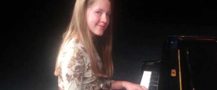 Jana Antelj – 2. mjesto na klaviru