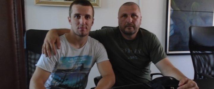 Prvak Balkana- kik-bokser Milan Babić