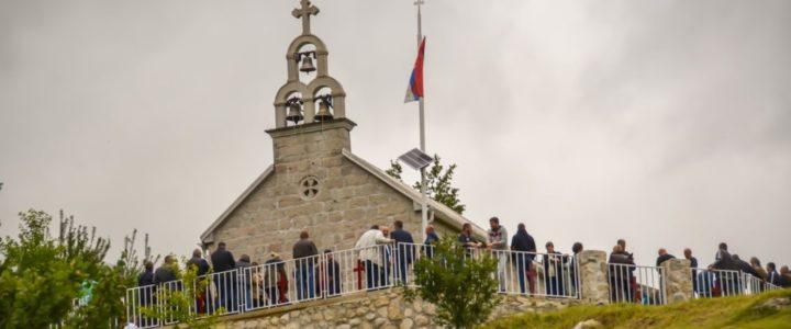 Прослављена  слава храма у Придворици