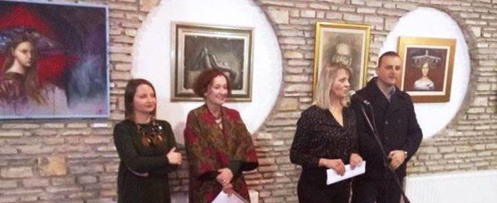 Izložba slika Danijele Novaković,Slavka Tuševljaka i Borka Močevića